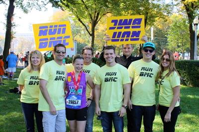 Bri Runs The 2011 Chicago Marathon! T-Shirt Photo