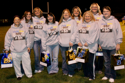 Colfax High School Football Senior Mom's  T-Shirt Photo