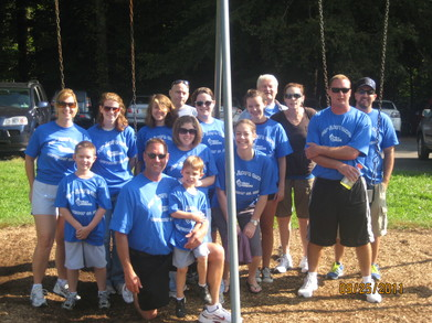 "Team ""For Jake's Sake"" At The 2011 Pa Walk4 Hearing T-Shirt Photo"