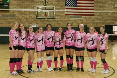 Mercy Volleyball T-Shirt Photo