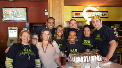 Sending 516 Out With A Bang! T-Shirt Photo