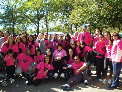 Miles For Lucia   Making Strides Against Breast Cancer T-Shirt Photo