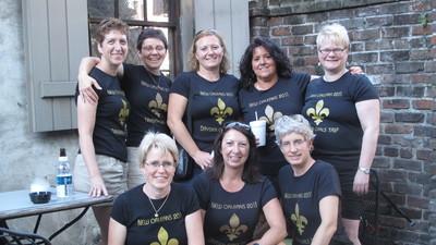Dryden Girls Visit New Orleans T-Shirt Photo