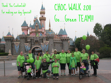Choc Walk 2011 Green Team  T-Shirt Photo