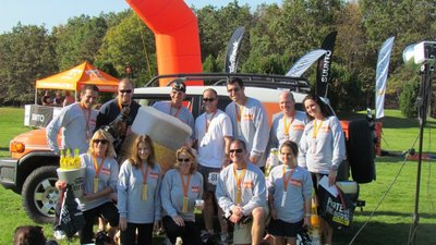 Ragnar Relay   Lancaster To Mt. Pocono   October 7 8, 2011 T-Shirt Photo
