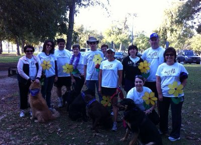 Walk To End Alzheimer's 2011 T-Shirt Photo
