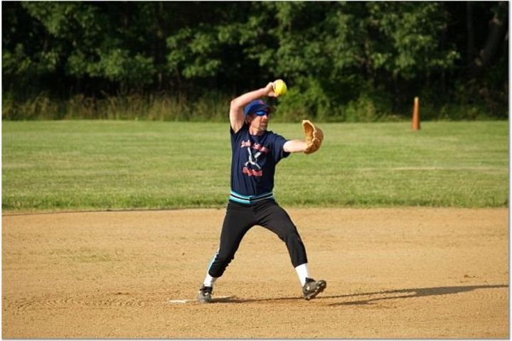 Softball.....Windmill Style! T-Shirt Photo
