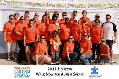 Pasadena Isd Autism Walk T-Shirt Photo