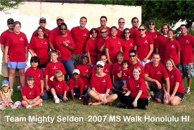 2007 Ms Walk Honolulu Hawaii T-Shirt Photo