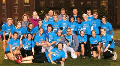 Junior Powderpuff Football Case Western T-Shirt Photo