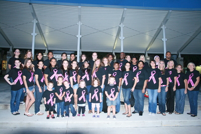 West Broward Hs Bobcats Wear Pink! T-Shirt Photo