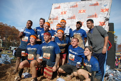 Washington Bullets Tough Mudder After! T-Shirt Photo