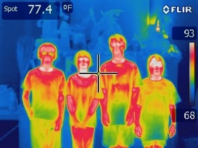 Custom Ink T Shirts Are Infrared Hot T-Shirt Photo