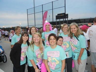 Ending Breast Cancer...And Looking Fabulous! T-Shirt Photo