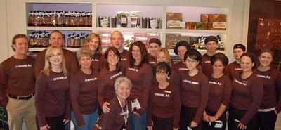 Group Caramel T-Shirt Photo