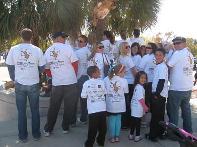 Little Monkey's Mob 2011 Jdrf Team T-Shirt Photo