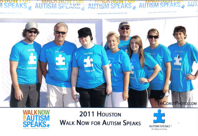 Autism Speaks 2011 T-Shirt Photo