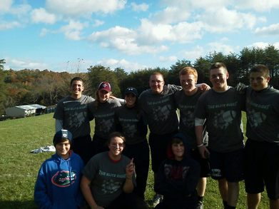 The Elite Eight Flag Football Team T-Shirt Photo