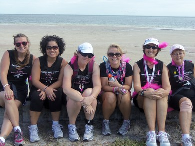 :Ltdf In Tampa For The Breast Cancer 3 Day T-Shirt Photo