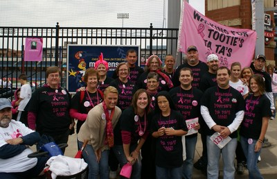 Walking For Tooties Ta Ta's T-Shirt Photo