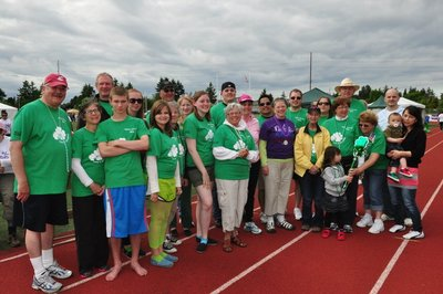 Team O'higgins   Tacoma, Wa Relay For Life T-Shirt Photo