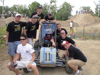Air Force Academy Competes In The Mini Baja T-Shirt Photo