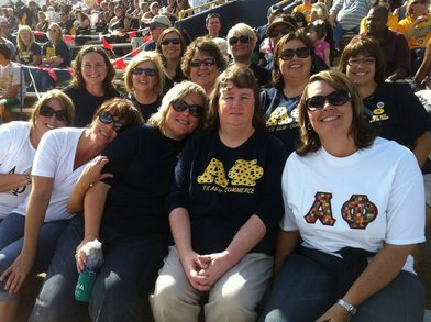 A Phis @ Football Game!  Go Lions! T-Shirt Photo