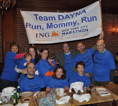 Team Dayna At Nyc Marathon Celebration T-Shirt Photo