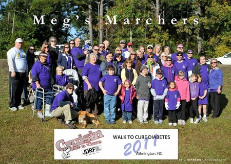 Jdrf 2011 Meg's Marchers T-Shirt Photo