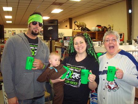 Rick Sanderson Memorial Rally   Cancer Sucks! T-Shirt Photo