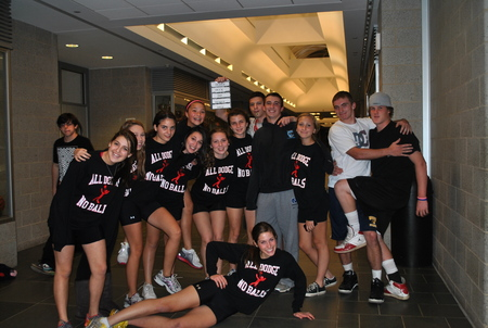 All Dodge No Balls   Whs Dodgeball Tournament 2011 T-Shirt Photo