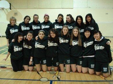 Bh Badminton Team T-Shirt Photo