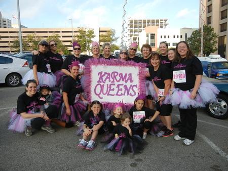 Tu Tu Fabulous For Breast Cancer T-Shirt Photo