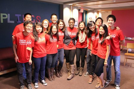 The Tufts China Care Exec Board! T-Shirt Photo