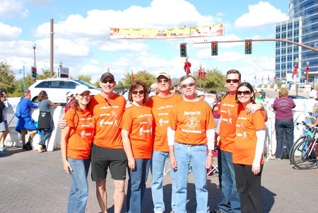 Ironman Az Support Crew T-Shirt Photo