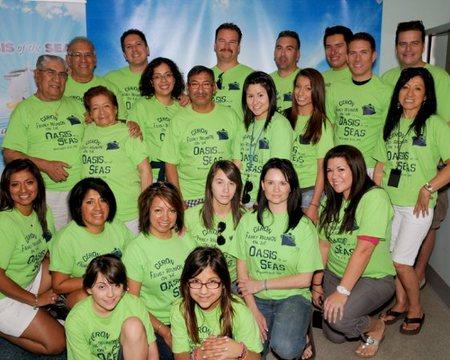 Ceron 61st Anniversary Cruise Celebration T-Shirt Photo