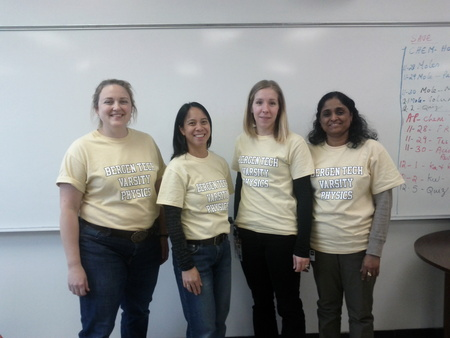 Bergen Tech Varsity Physics Team T-Shirt Photo