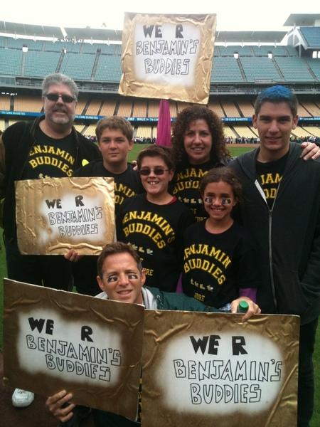 Benjamin's Buddies Walk To Cure Diabetes T-Shirt Photo