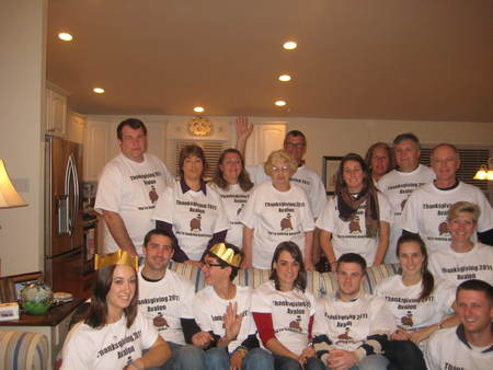 Wasilewski Thanksgiving Turkey Tees T-Shirt Photo