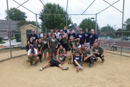Beto's Pizza Softball Game T-Shirt Photo