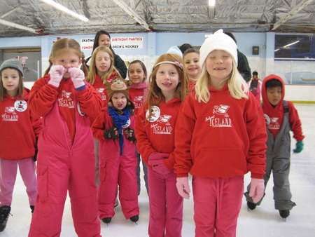 Frosty's Fun Factory Campers On Ice! T-Shirt Photo