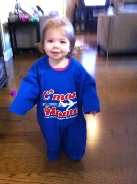 Cutest Wearer Of Our T Shirt To Raise Money For Our Upcoming Adoption. T-Shirt Photo