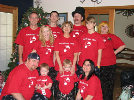 Happy Mom's Family T-Shirt Photo