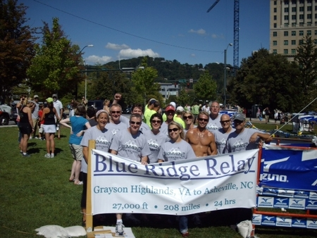 Team Mommicked Completes The Blue Ridge Relay T-Shirt Photo