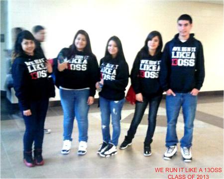 Class Of 13 Oss  T-Shirt Photo
