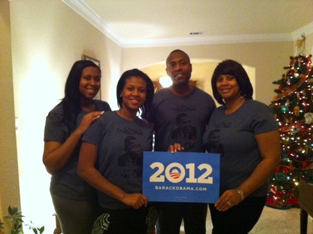 Obama 2012 T-Shirt Photo