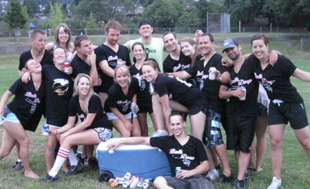 Balls Deep Softball Team T-Shirt Photo