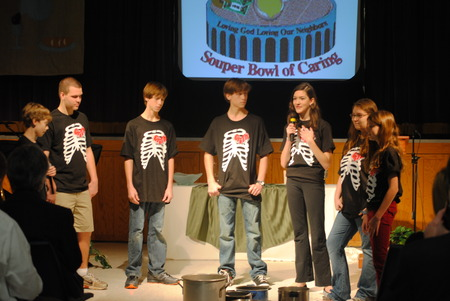 """Souper"" Bowl Of Caring T-Shirt Photo"