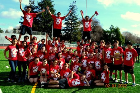 Powderpuff Football T-Shirt Photo