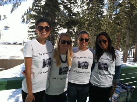 Engagement In Mammoth T-Shirt Photo
